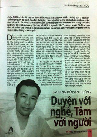 bac si Nguyễn Văn Thưởng